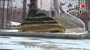 construction of mazar e pur noor sharif 9 25 basement slab
