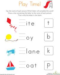 worksheets for kg students find missing letters worksheet education