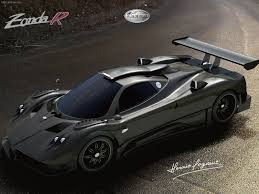 pagani zonda gold pagani zonda hd desktop wallpapers