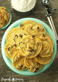 free and eggless chocolate chip cookies