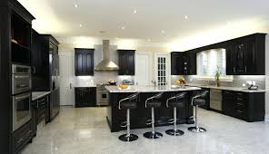 fancy kitchen cabinets ideas with cream and blackblack gloss amazing black kitchen cabinets images lacquered wood island round leather bar stool white tileblack gloss high