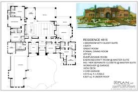 square floor plans for homes 5000 square foot home plans homes floor plans