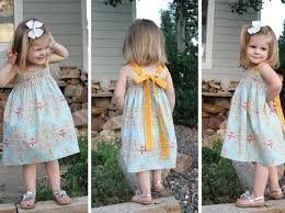 tie back sundress pattern for girls craftfoxes