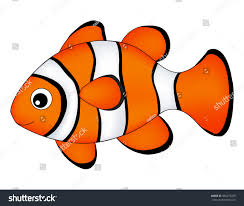reef fish clown fish fish isolated stock vector 489273265