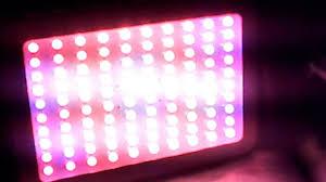 1000 watt led grow light reviews 1000w led wegoo grow light from ebay review it s only 117 watts