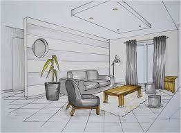 comment dessiner un canapé en perspective apprendre a dessiner l interieur d une maison aménagement