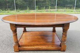 small round oak coffee table mid century modern slat coffee table mid century modern oval coffee
