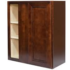 27 inch blind corner wall cabinet in leo saddle with 1 soft close blind corner wall cabinet in leo saddle with 1 soft close door