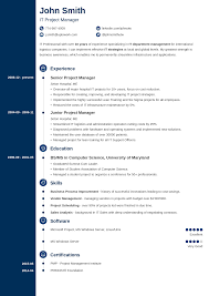 new resume templates 20 resume templates create your resume in 5 minutes
