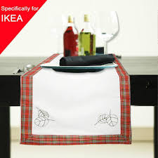 Christmas Plaid Table Runner by 33x120cm Christmas Tablecloth Table Runner Striped Table Cover
