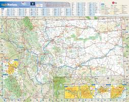 Map Of National Parks In Usa Large Detailed Roads And Highways Map Of Montana State With