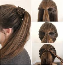 pony hairstyles for medium length hair 2018 pony hairstyles