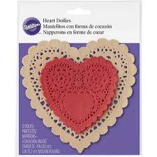 heart doilies heart doilies wilton