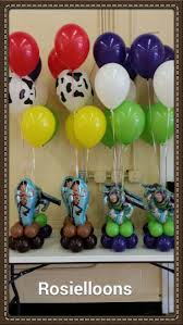 Balloon Decoration Ideas For Birthday Party At Home 25 Best Toy Story Centerpieces Ideas On Pinterest Toy Story