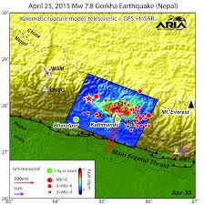 Maps Nepal by Nepal Gorkha Earthquake 2015 Nasa Earth Science Disasters Program