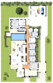 wide tuscan house plans with 3 luxury bedroom layout entrancing