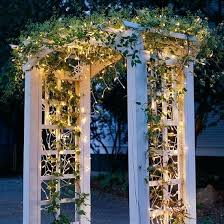 wedding arches with lights wedding arches decorating ideas outdoor lights icicle arbors and