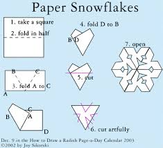 How To Make A Snowflakes Out Of Paper - shop local play global paper snowflakes craft and holidays