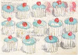 Baker\u0026#39;s Dozen Print by Kirsten Jones. This delicious print by artist Kirsten Jones features everyone\u0026#39;s favourite ... - 813