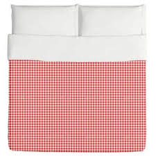 Gingham Duvet Covers Cane Gingham Duvet Cover Free Shipping Today Overstock Com