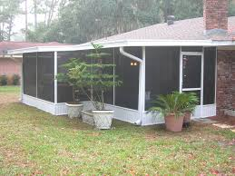 Shed Roof Screened Porch Best Windows For Screened Porch Sunroom Installing Windows For
