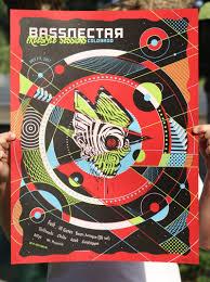 bassnectar nye poster derek sabiston artist designer posters