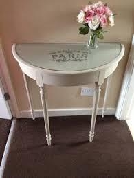 paintwork on half moon table mi casa es tu casa pinterest