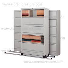 high density 5 tier flipper door cabinet rolling cabinets with