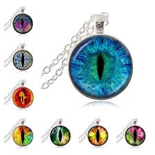 eye pendant necklace images Cat eye pendant necklace eye of sauron glass dome cabochon pendant jpg
