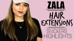 Sarahs Hair Extensions by Zala Hair Extensions Review Snickers Highlights Faces By Cait