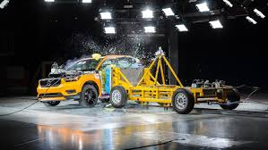 side impact crash test shows 2018 volvo xc40 is a winner u2013 move