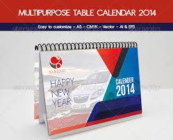 40 psd ai u0026 indesign calendar templates 2014 wakaboom