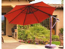 large cantilever patio umbrella best cantilever patio umbrellas