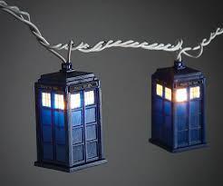 Dr Who Tardis Bookshelf Who Tardis String Lights