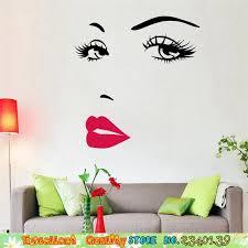 chambre marilyn marilyn monro emplâtre sticker mural diy accueil mural décor