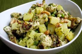 pesto cauliflower and potato salad the washington post