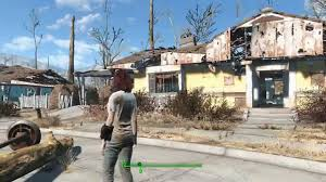 Trash House by Fallout 4 Sanctuary No Trash And Leaf Piles Mod Youtube