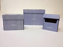 karton design 5 papiertiger karteikästen a6 karton design weißblau faltbar
