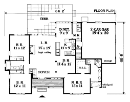 Foyer Plans House Plan 99654 At Familyhomeplans Com