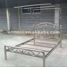Double Bed Frame Prices Single Stainless Steel Bed With Bed Frame Buy Metal Bed