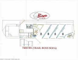 horse trailer living quarter floor plans 7667 2018 bison trail boss 7406 living quarter for sale in