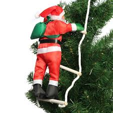 2018 new climbing santa claus with rope ladder pendant