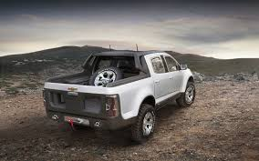 subaru concept truck new chevrolet colorado roughens up with double cab rally concept