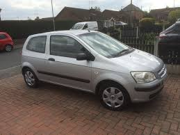 hyundai getz 1 1 3 door in silver 04 plate 9months mot all mot