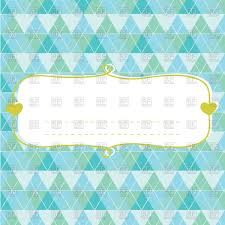 baby shower card for boy with frame vector image 115385 u2013 rfclipart