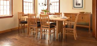 Mission Dining Room Chairs Mission U0026 Craftsman Dining Chairs Vermont Woods Studios