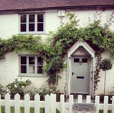 Cottage Doors Exterior Exterior Painting Farrow Grey Paint Windows Door