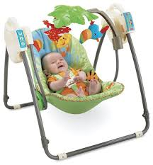 portable baby swing with lights choosing the best baby swing for your child best baby swing review