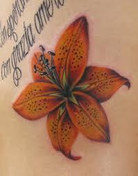 beautiful flower tattoos tiger on the ribs tattoomagz