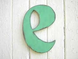 Letter Wall Decor Initial Letter Wall Decor Cofisem Co